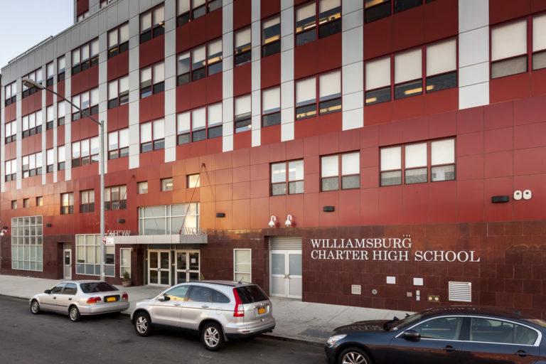 112114  Williamsburg Charter High School in Bushwick Brooklyn